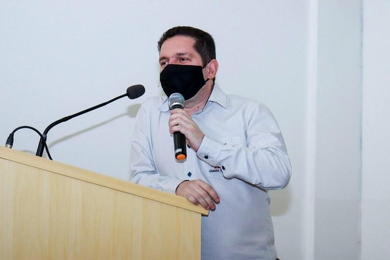 Diretor Geral da Câmara de Manhuaçu Carlos Henrique Cruz